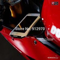 DRACO DUCATI Ventare Deff CLEAVE Motorcycle Racing Design Aviation Aluminum Bumper Metal Case for iPhone 5 5S,10pcs per lot
