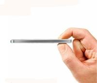 10000mAh Batteria Esterna Tascabile USB Universal Mobile External Battery For Phone Daul USB Output Silver Aluminum housing