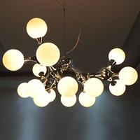 Lanting dna pendant light modern brief study light bedroom lamps lighting restaurant lamp