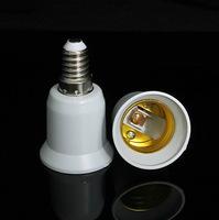 6pcs E14 To E27 Light Bulb Lamp Holder Socket Adapter Converter wholesale Dropshipping