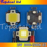 6pcs 10Watt 10W Cool White High Power LED beads Light Lamp Chip 20000K -25000K 900-1100LM