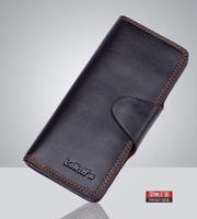 2014  Brand Genuine Leather Wallet Women's & Men's Long Wallets Retro Purse Fashion Clutch wallets GIFT Free Shipping