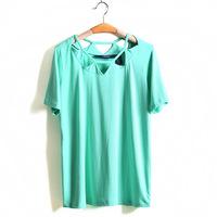 5XL-8XL Plus Size Casual Sexy Women Hollow Out T-Shirt Tee Top Big Large Size Oversize 6XL 7XL XXXXXL XXXXXXL 2014 New Summer