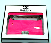 1pcs  mobile phone silicone cases For Samsung protective sleeve S4 I9500 Rose red