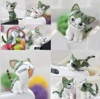 wholesale kpop kawaii anime Chi's cat jack Anti dust plug for cell phone/ks brand designer cute earphones cap free shipping