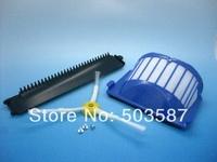 New dustbin bar cleaning tool, Dust filter, sidebrush for irobot Roomba AeroVac 550 551 Vacuum cleaner Robotics!