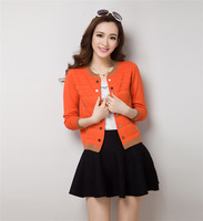 Spring 2014 New Women's Wear Wool Knit Cardigan Loose Thin Cardigan Coat Free Shipping