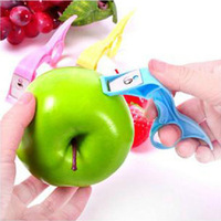 Lounged daily necessities novelty home portable rotating paddle fruit knife