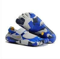 hot sale 5 fingers men women toe hiking shoes magic button outdoor climbing shoe sports