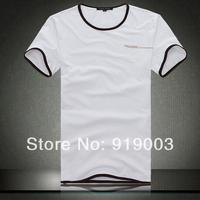 Wholesale 2014 Brand Men's T-Shirts, Round neck T-shirts, Fashion O-neck T-Shirt,Man's Tees Free China Post Shipping.TB58