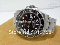 Luxury Sapphire Mens Swiss Date Ceramic Eta 2836 SUB Perpetual Sapphire Black Dial mechanical hand wind Men's Watches