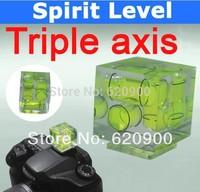 100% GUARANTEE Camera Flash Hot Shoe Spirit Level Double 2 Axis Bubble 5D 7D 40D 550D 600D