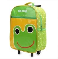 New 2014 children school bags Han edition rod detachable kids backpack  1-6 grade