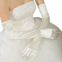 Wedding longer have mittens flat plain dress elbow gloves, sunscreen performances over long terms