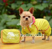 2014 New PVC Thicken Waterproof Pet Dog Raincoat