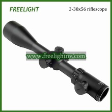 free shipping 3-30×56 SFIR hunting riflescope extra rigid shockproof shooting scope waterproof and fogproof
