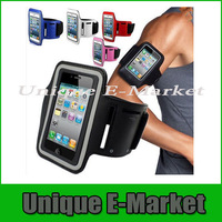 5 Pc/lot New Waterproof Sport GYM Running Armband Case For Apple iPhone 5 5S 5C Workout Armband Holder Pouch For iPhone 5S 5C 5G
