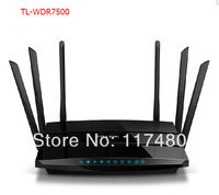 TP-Link TL-WDR7500 1750Mbps,double frequency 11AC wifi wireless router, with 6 antenna, TP link router