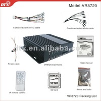 DTY VR8720-3GW 4 channel H.264 mobile dvr GPS 3G WiFi available