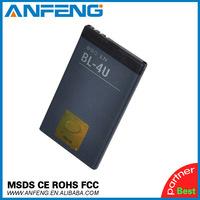 BL-4U 1000mah Replacement Battery For Nokia C5-06 E66 E75 5530 XpressMusic 3120 6600 8800 Carbon Arte