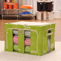 Boehner oxford fabric storage box storage box finishing steelframe clothing baina box Large storage box