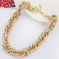 Fashion necklace coarse necklace metal scrub quality chain