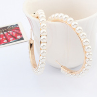 Earrings song earrings korean winter pearl