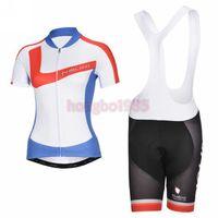 Newest ! ! ! 2014 Outdoor Women Short Sleeve Sport Wear Cycling Jersey + Cycling Bib Shorts Sets CC039