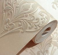 3D Luxury Damascus Velvet Flocking Background Wallcovering Roll Europe Home Decor noise insulation
