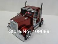 10pcs/lot Truck Shape Mini Speaker Car Shape Music MP3 USB,3D Stereo Sound Mini Speaker,Mix Color