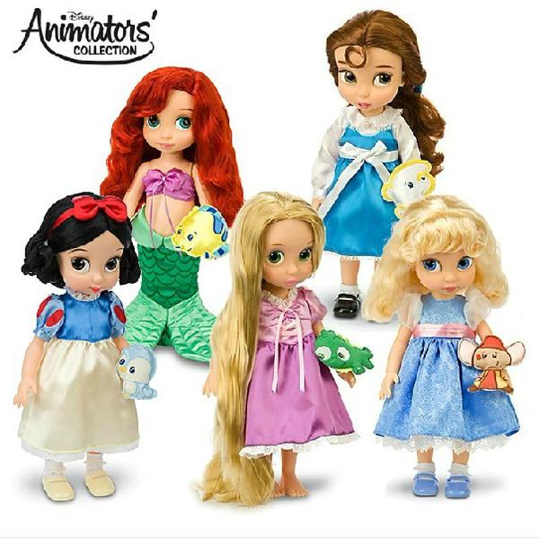 Original box Princess 16 Inch princess baby Doll for girls for Cinderella / Snow White /Mermaid doll(China (Mainland))