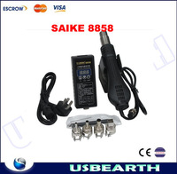 Hot selling Portable Hot Air Blower Heat Gun SAIKE 8858, soldering station SAIKE8858 220V. free shipping