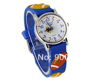 High Quality Willis Brand Football Basket ball Rugby Volleyball Hands 3D Cartoon Silicone Analog Wrist Watches Boys Sports Watch