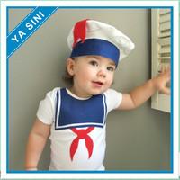 2014 newest factory direct new baby boy sailor cap triangular piece sailor climbing clothes Free Shipping
