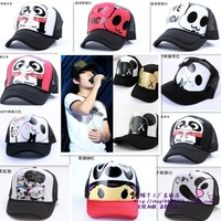 Summer hiphop hip-hop baseball mesh cap truck cap baseball cap male women's lovers summer hat