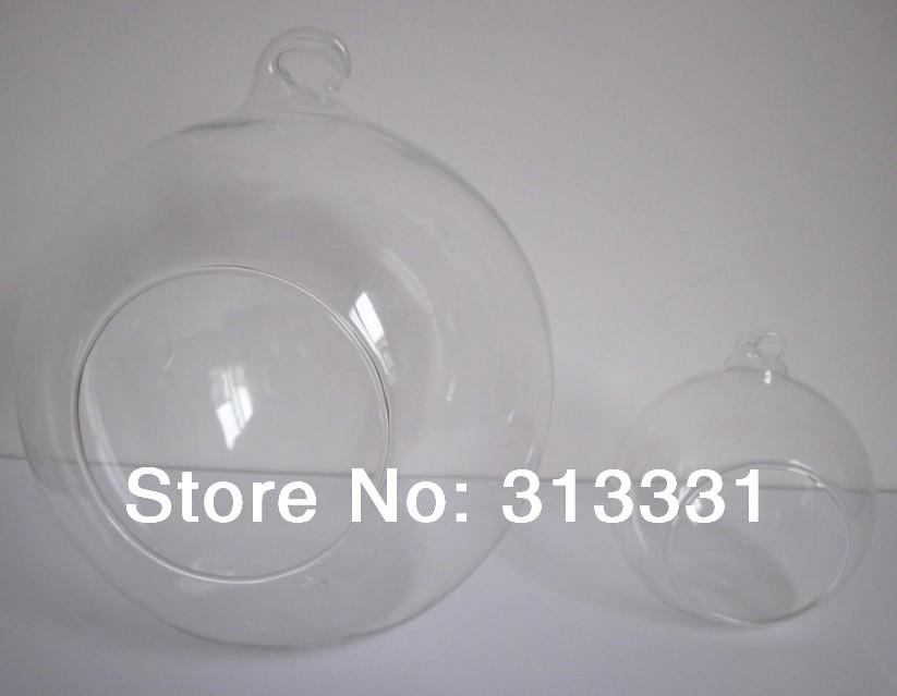 Hanging Bubble Globe Vase Aquariums Glass Candle Holder Collection(China (Mainland))