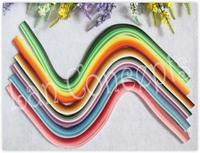 Free shipping DIY Paper Filigree Quilling  - W0.5cm x L54cm MIXED 36colors 1440pcs/lot LA0124