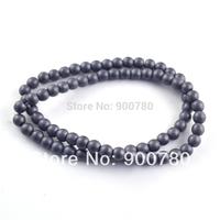 !  4mm Matte Hematite Round Beads, Best Quanlity 300pcs/lot Shamballa Beads Jewelry Finding