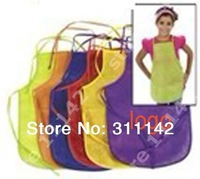 Fashion apron,non woven apron, Child apron, Custom apron 500pcs with Free shipping by Fedex