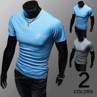 Brand new mens shirt 2014 new men's fashion summer short sleeve totem t shirt M-XXL
