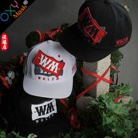 Oxymask runningman wolf-m cap velcro hiphop cap baseball cap