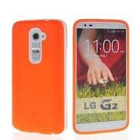 Flexible Soft Gel Tpu Silicone Skin Slim Back Case Cover For LG G2