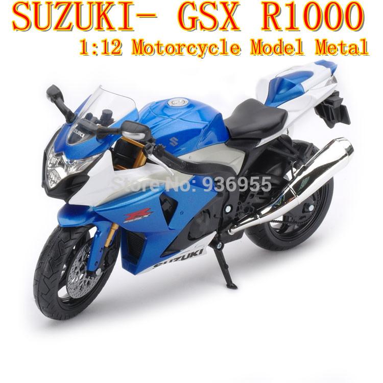Brand New In Stock JOYCITY 1:12 TB SUZUKI GSX R1000 Scale Diecast Simulation Motorcycle Model Metal Motorbike 6008(China (Mainland))