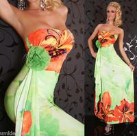 2014 New Design Women's Fashion Bohemia Print Casual Dress Classic  Party Summer Dress free shipping F4193