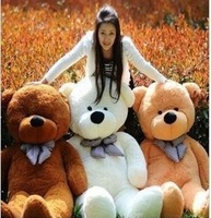 free shipping 2014 new hot sale Teddy Bear plush toys giant plush  doll  soft toy big stuffed animal gift  size1.2m