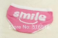 Free Shipping High Quality Women's Underwear Boxers Briefs Modal Women Underwear Boxer Shorts woman letter SMILE  6pcs/lot