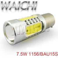 Hot Sale  LED Car lights 1156 BAU15S 7.5W BAY15D 1157 T10 LED Brake Tail Turn Signal Light Bulb Lamp  DC12V-24V Car LED Bulb .
