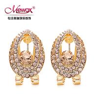 Mewox earring austria crystal anti-allergic drop stud earring fashion