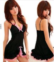Free shipping wholesale clothing set erotic lingerie sleepwear latex sexy dress sale sexy toys hose