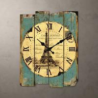 032042 wall clock in wall clocks safe modern design digital vintage large led kitchen decorative mirror Creative sitting-room